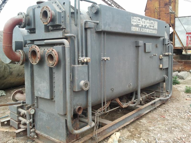 二手申马溴化锂制冷机、申马溴化锂中央空调回收、检修