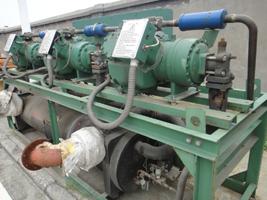 回收二手制冷机,回收二手开利螺杆、活塞、风冷热泵制冷机,溴化锂中央空调机组