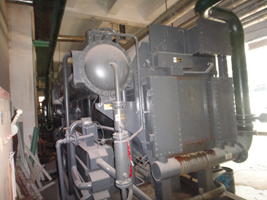 双良溴化锂制冷机回收--双良氨纶总公司溴化锂冷水机组回收拆除分析