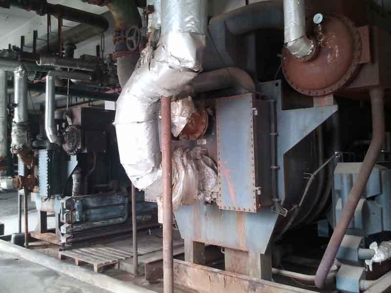 焦化行业非标溴化锂冷水机组参数表