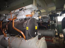专业二手螺杆制冷机、溴化锂制冷机回收